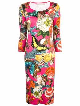 Mary Katrantzou платье миди с принтом SS19LKD023
