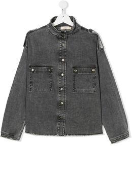 Andorine декорированная джинсовая рубашка ADW1950BT