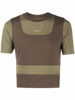 Ambush футболка в технике пэчворк 12111927