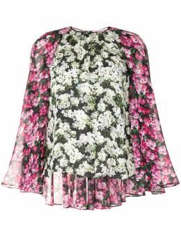 Mary Katrantzou блузка Melissa с цветочным принтом NT007MELISSATOP
