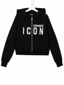 Dsquared2 Kids худи Icon на молнии DQ04C4TD003G