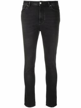 Acne Studios джинсы скинни Peg Used Blk A00154