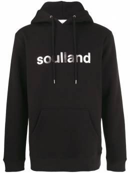 Soulland худи с логотипом и кулиской L101031