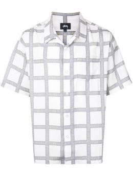 Stussy клетчатая рубашка 1110117