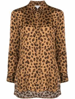 Rosetta Getty рубашка с леопардовым принтом 13201K7645