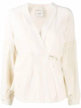 Alysi блузка с запахом и завязками 150202A0061