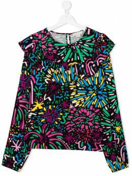 Stella McCartney Kids блузка с цветочным принтом 601251SPK28