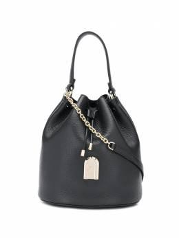 Furla сумка-ведро Sleek из зернистой кожи BATBABRHSF000