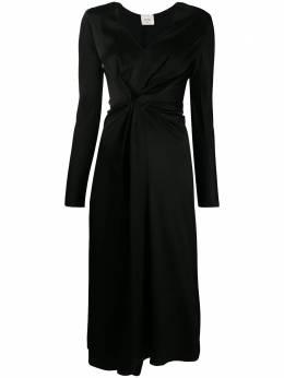 Alysi атласное платье Alysi 150344A0026