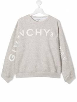 Givenchy Kids толстовка с логотипом H15174