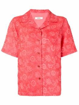 Goen.J рубашка с короткими рукавами и цветочным принтом GJ20PFT01