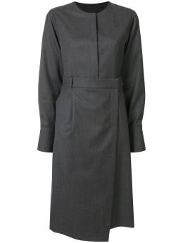 Goen.J платье-рубашка с запахом GJ20PFDS04