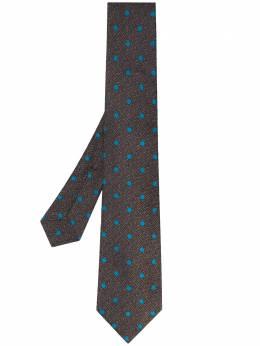 Kiton галстук в горох UCRVKPC04G900