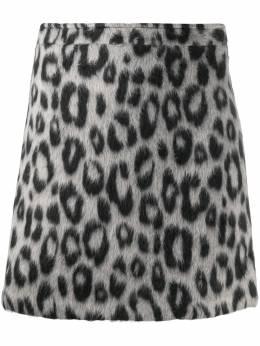 Andamane юбка мини с леопардовым принтом Q02G0451206