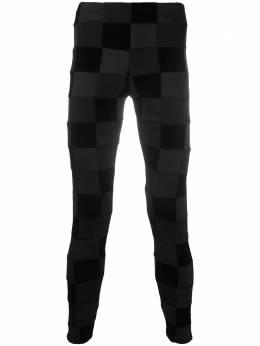 Comme Des Garcons Homme Plus клетчатые брюки скинни PFT05005112