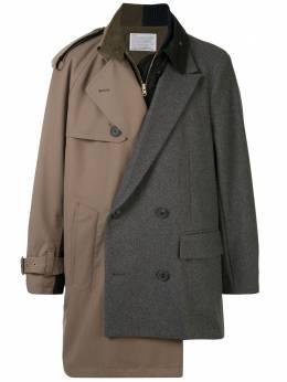 Kolor пальто асимметричного кроя 20WCMC08108