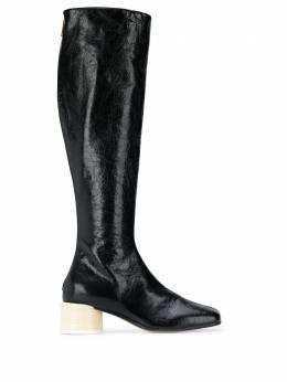Mm6 Maison Margiela сапоги на блочном каблуке S40WW0122P3754