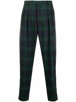 Tommy Hilfiger клетчатые брюки прямого кроя RE0RE00690