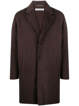 Acne Studios однобортное пальто B90412