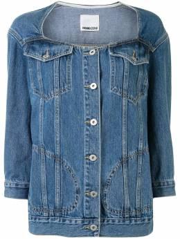 Ground Zero джинсовая куртка без воротника F20JK392