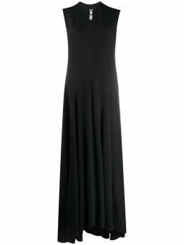 Jil Sander расклешенное платье без рукавов JSPR500510WR380200