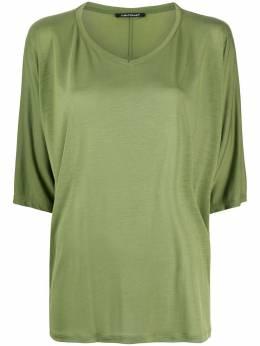 Luisa Cerano футболка свободного кроя с укороченными рукавами 3286447700