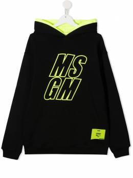 MSGM Kids худи с логотипом 025812