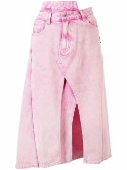 Ground Zero джинсовая юбка асимметричного кроя F20JE892