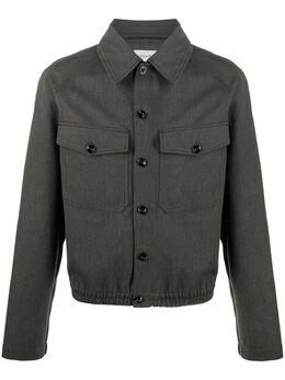 Lemaire куртка-рубашка с заостренным воротником M203OW162LF484