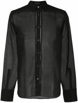 Ann Demeulemeester прозрачная рубашка 20023602116