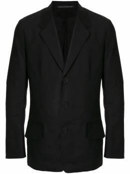Yohji Yamamoto однобортный пиджак HRJ08005