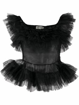 Molly Goddard блузка Edden с оборками MGAW2049EDENTOP