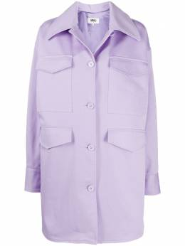 Mm6 Maison Margiela куртка оверсайз на пуговицах S52AM0153S53090