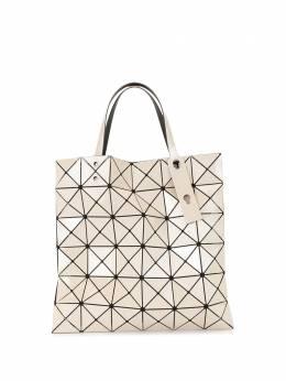 Bao Bao Issey Miyake сумка-тоут с геометричным узором и логотипом BB08AG05140