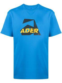Ader Error футболка с логотипом BTAFWHT09SB