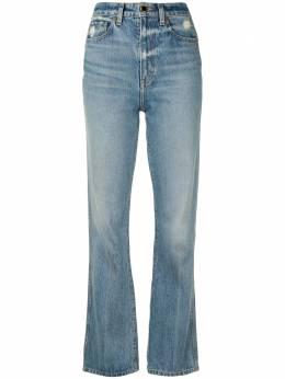 Khaite джинсы Danielle с завышенной талией 1032059