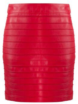 Alessandra Rich юбка мини в рубчик FAB2273L3035