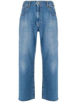 Mm6 Maison Margiela укороченные джинсы с завышенной талией S52LA0137S30460