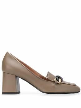 Pollini туфли с квадратным носком и цепочками SA10116G1BTD