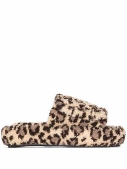 Natasha Zinko слиперы с леопардовым принтом PF207021501