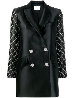 Giuseppe Di Morabito платье-блейзер с кристаллами 104DR39
