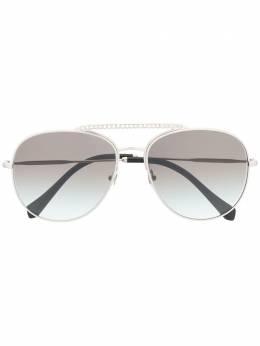 Miu Miu Eyewear солнцезащитные очки-авиаторы 0MU53VS