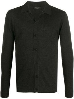 Roberto Collina рубашка поло на пуговицах RD01005