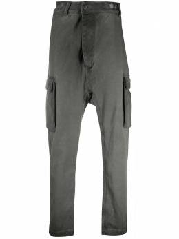 11 By Boris Bidjan Saberi прямые брюки карго P21BF1475