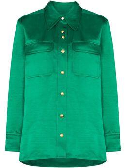 Wales Bonner рубашка Capleton на пуговицах WA20SH09LIN360C720SATINLINEN