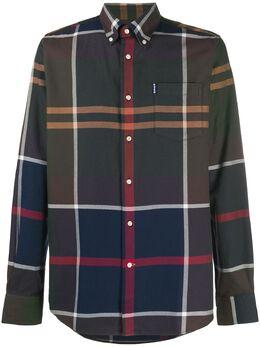 Barbour клетчатая рубашка с длинными рукавами MSH4284TN51