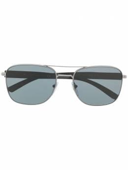 Bvlgari солнцезащитные очки в квадратной оправе 0BV5050