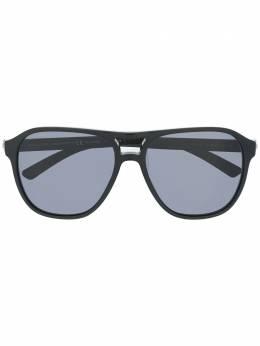 Bvlgari солнцезащитные очки в квадратной оправе 0BV7034