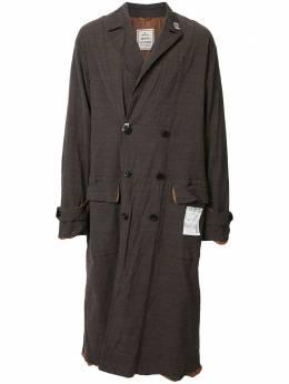 Maison Mihara Yasuhiro легкое пальто Shrank A05CT052