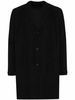 Homme Plisse Issey Miyake плиссированное пальто HP08JD202